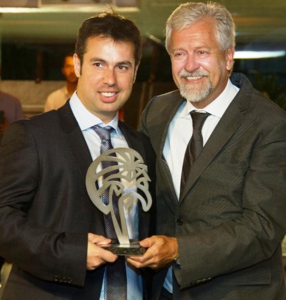 Cerimônia 7 Prêmio Ozires Silva Isae FGV - Leonardo Barrionuevo e Jorge Samek - foto Luis Batista_